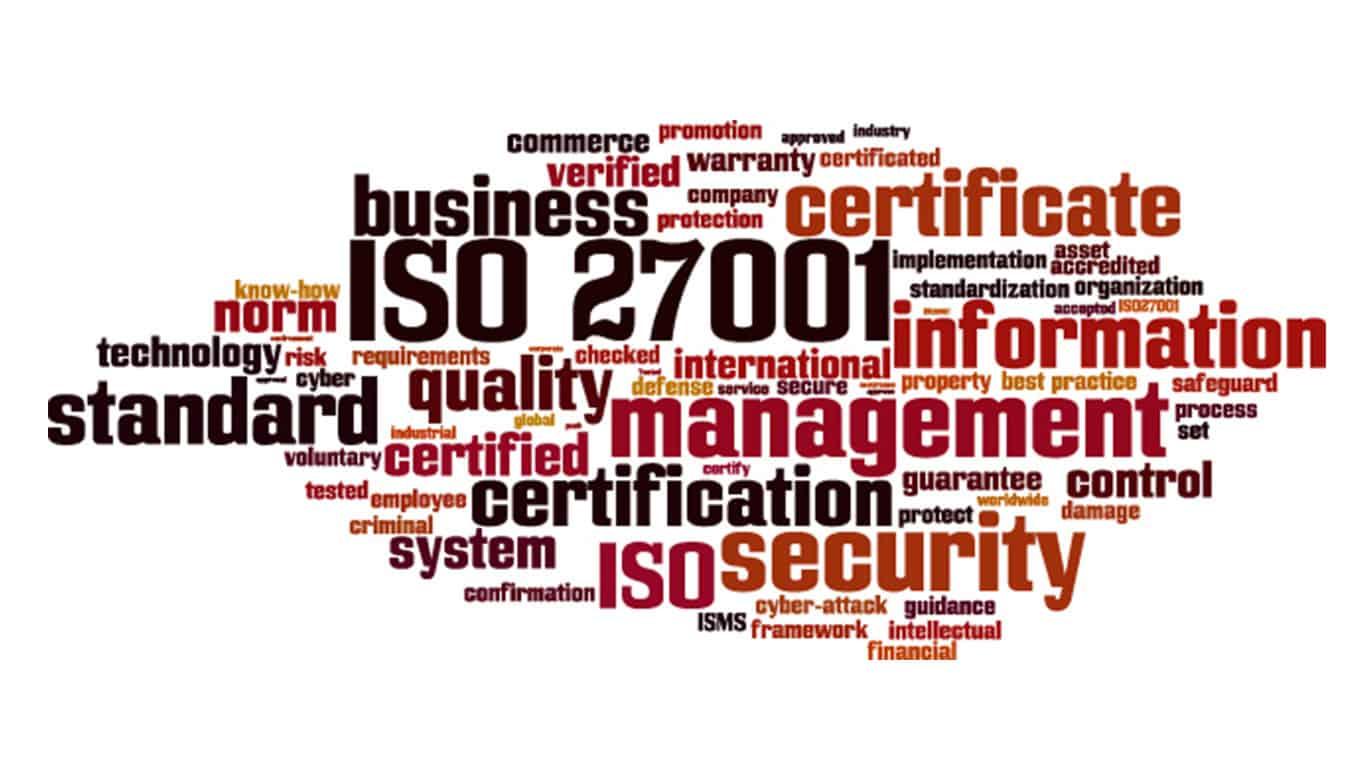 ISO 27001 © Boris15/Shutterstock