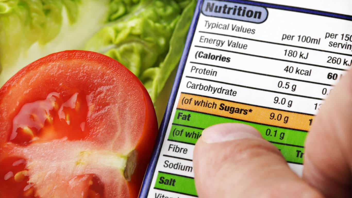 Nutrition Facts Label © Shutterstock